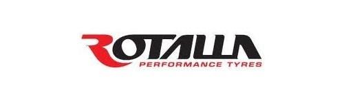 A ROTALLA autógumi gyártó logója.